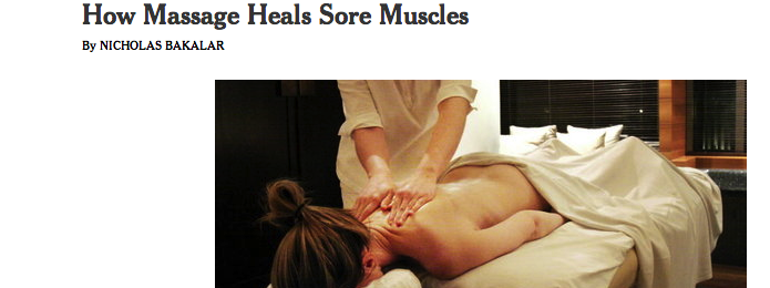 Benefits Of Massage – It's Science!